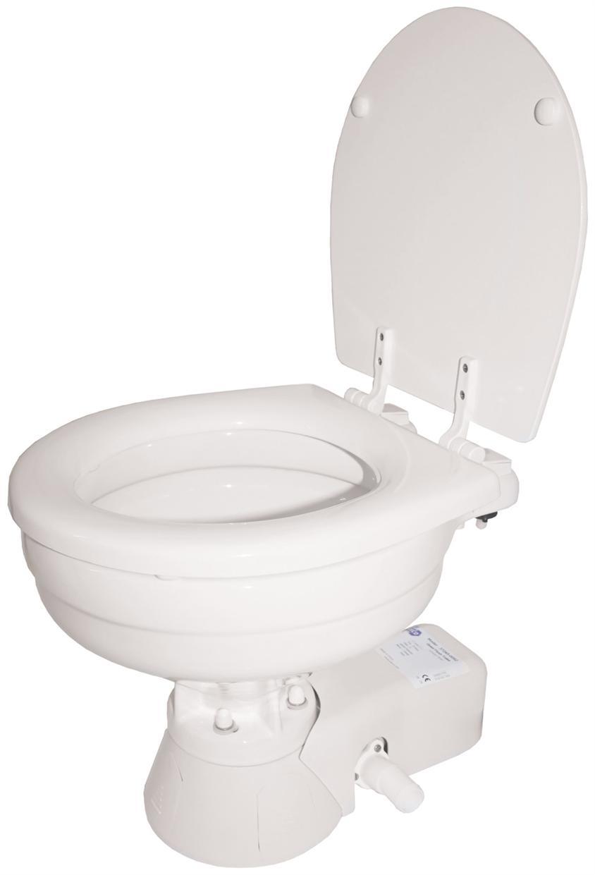 Toilets - JABSCO QUIET FLUSH Electric