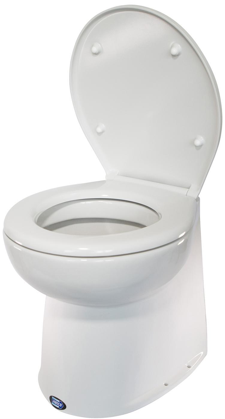 Toilet - JABSCO DELUXE Silent Flush