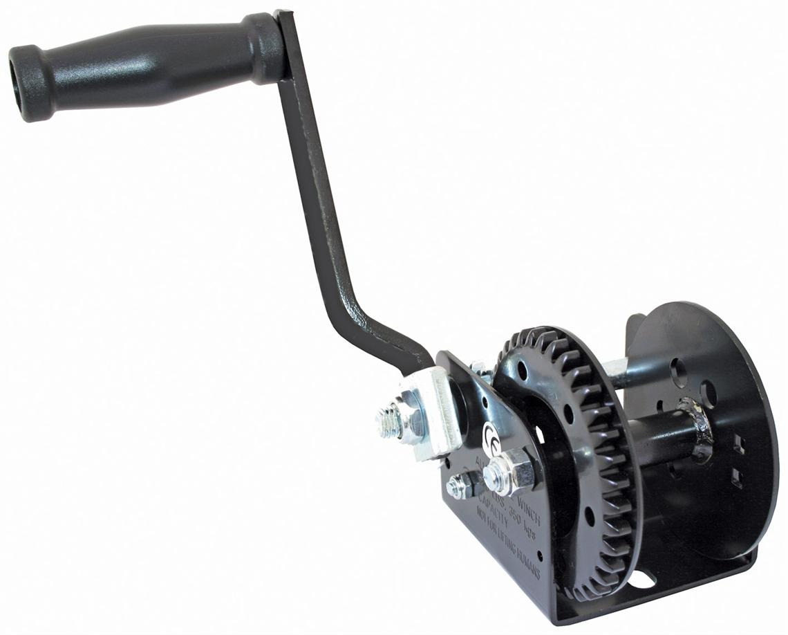Trailer  -  Manual  Winches
