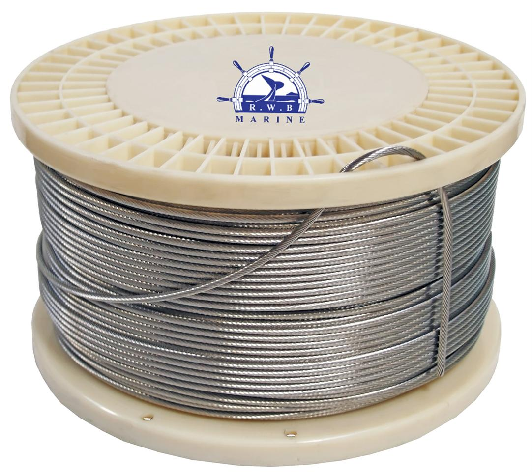 Rigging hardware - Wire Rope - 316 Stainless
