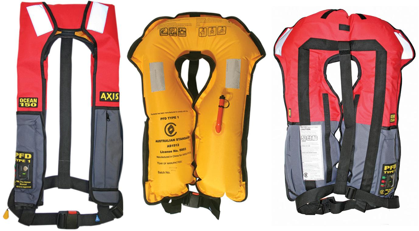 Safety - Axis  Inflatable  Jackets