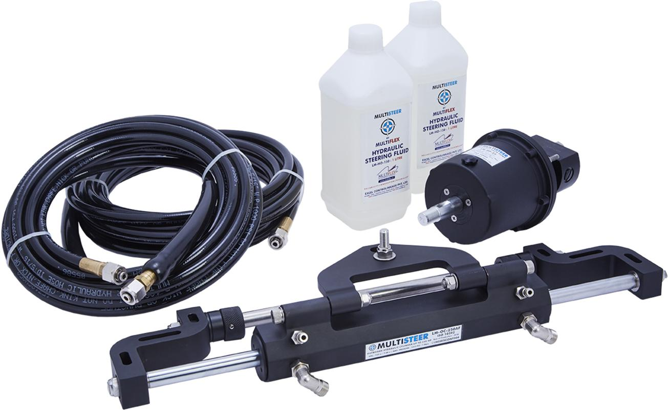 Outboard Hydraulic Steering