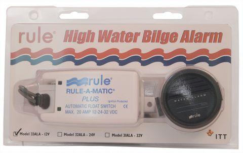 Rule High Water Bilge Alarm Kit