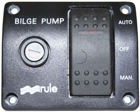 Bilge Pump Rocker Switch 3 Way Control