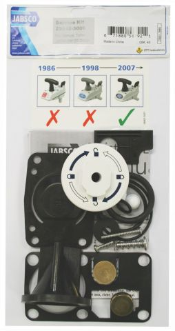 Replacement Parts For Older JABSCO / PAR MK2 & JABSCO 2000  Toilets