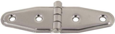 Strap Hinge - Light Stainless Steel