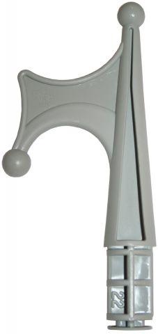 Boat Hook Head - Grey Nylon