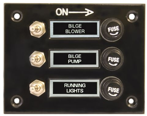 Standard Switch Panels - Black