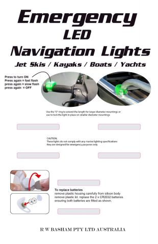Small  Craft  LED  Emergency  Lights