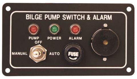 Bilge Alarm & Pump Control Panel