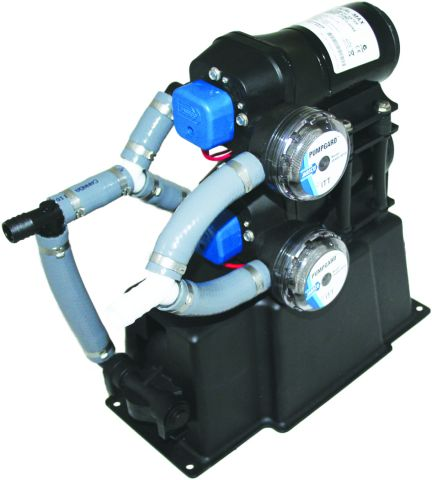 28  Litre  Dual-Max 7.5  Freshwater  Pressure  System