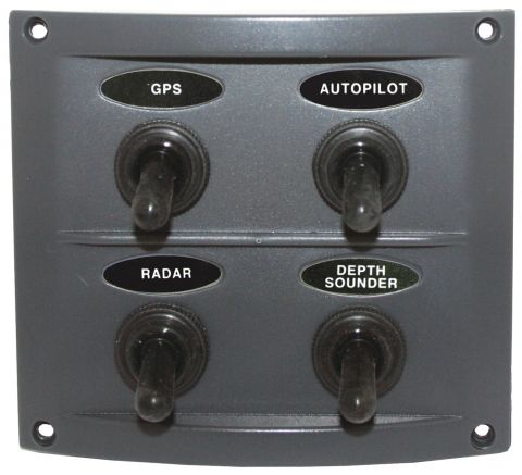 Splashproof Switch Panels
