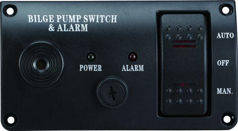 Bilge Alarm & Pump Control Panel Modern Style