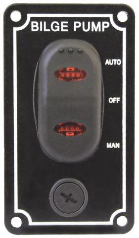 Bilge Pump Switch Panels