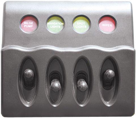 Waterproof Backlit Switch Panels