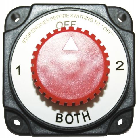 Battery Selector Switch - Heavy Duty - Compact
