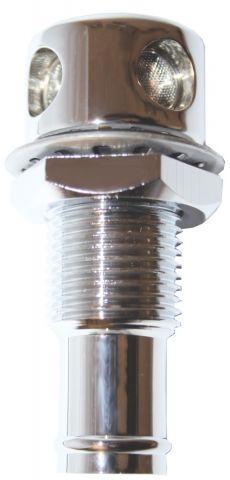 Chromed Brass - Straight