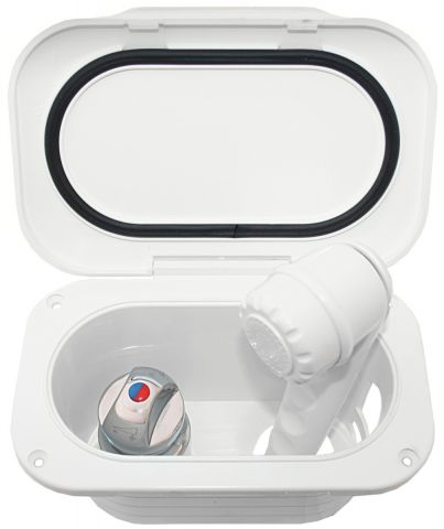 Transom  Shower  Kit - Compact