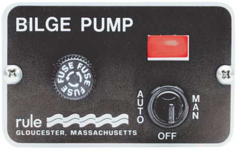 Bilge  Pump Deluxe 3 Way Switch