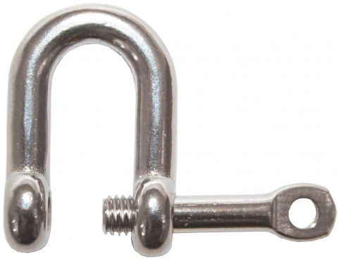 Shackles - Captive Pin Stainless Dee