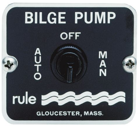 Bilge Pump 3 Way Control Switch
