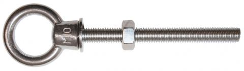 Eye Bolts - Stainless - Collared