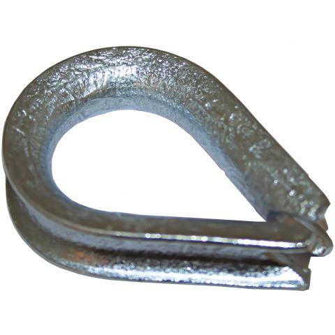 Thimbles - Galvanised Steel