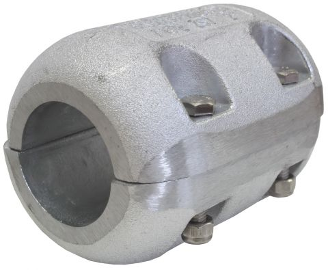 Large Shaft Anodes With 4 X Hex Head Stainless Bolts