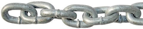 Short Linked Galvanised Chain
