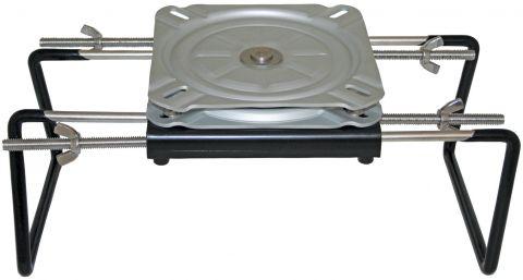 Seat Clamp & Swivel - Stainless & Aluminium