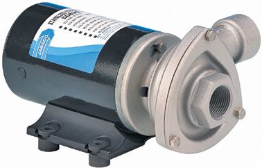 """CYCLONE""  Circulation  Pump  -  Stainless  Head"