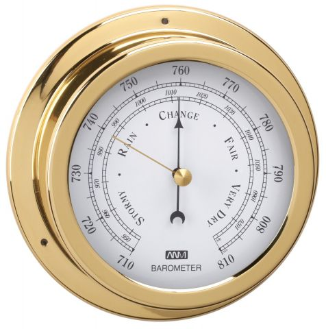 70mm  Face  Diameter - Barometer