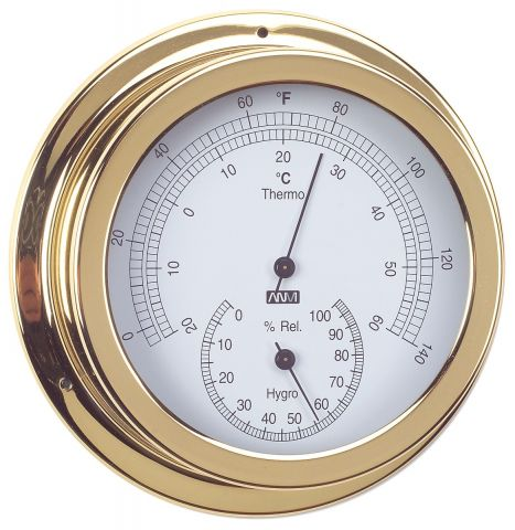 Thermometer & Hygrometer combo 120mm  Face  Diameter