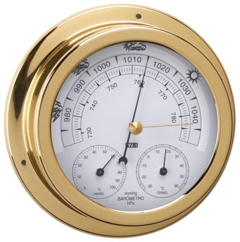 Barometer, Thermometer & Hygrometer triple combo-120mm  Face  Diameter