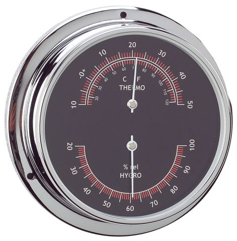 Thermometer & Hygrometer combo 95mm  Face  Diameter