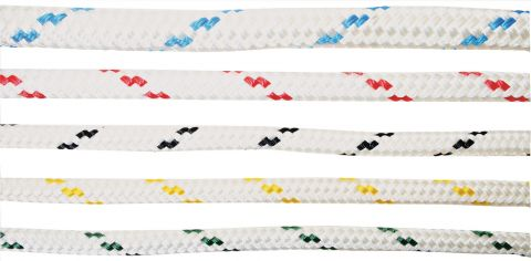 Polyester  Double  Braid  Yacht  Rope  -  Flecked
