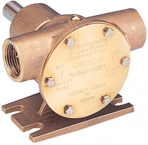 Bronze  Flexible  Impeller  Pumps  3/4""