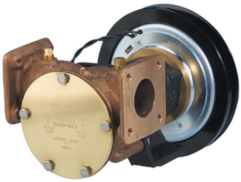 Series 50220 & 50270 Flanged Electric Clutch Pumps