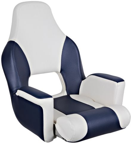 Deluxe Flip-Up Helmsman Seats
