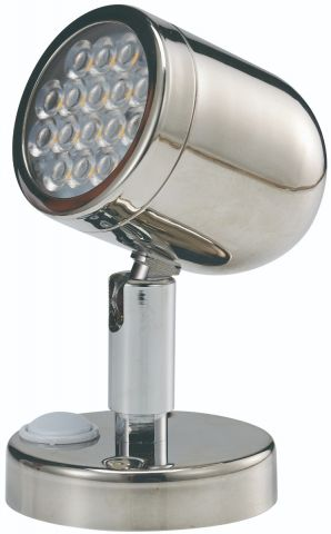 LED  Stainless  Steel  Bunk  Light