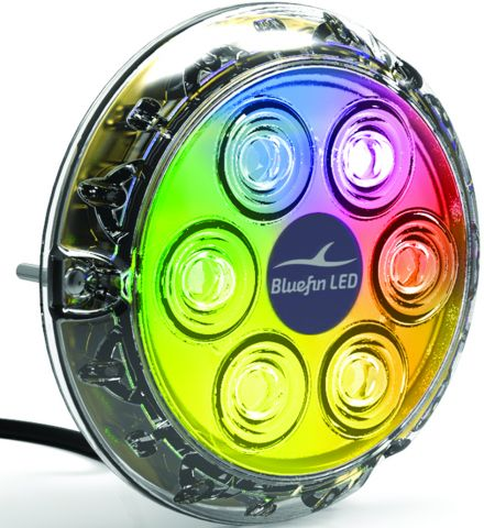 BLUEFIN Piranha P6 NITRO LED Underwater Lights