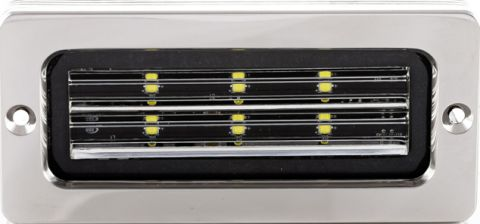 "BLUEFIN ""Firefly"" LED Stainless Flood Lights"