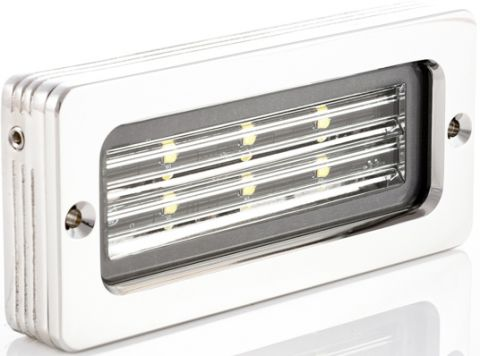 "BLUEFIN ""Firefly"" LED Stainless Flood Lights-RWB6362"