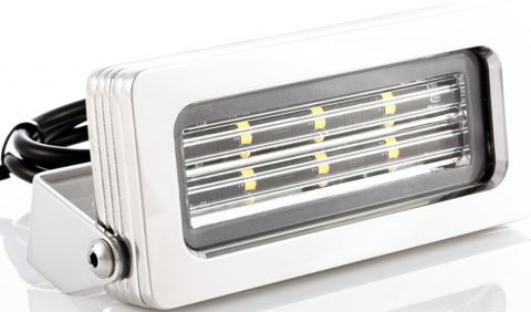 "BLUEFIN ""Firefly"" LED Stainless Flood Lights-RWB6366"