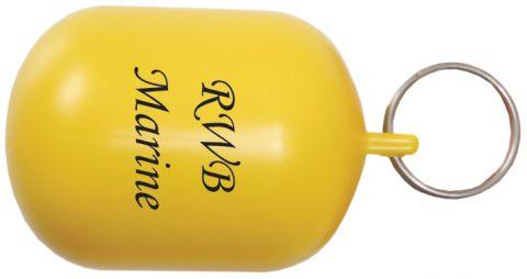 Screen  Printed  Key  Rings Yellow