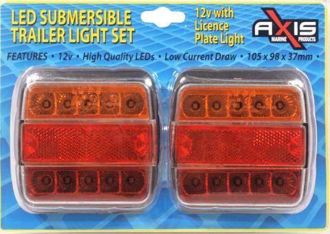 LED Trailer Light SET