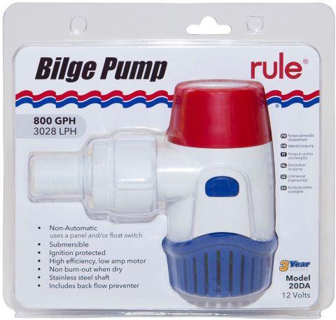 RULE Shower Sump Drain Kits - Spare