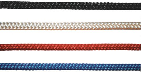 Polyester  Double  Braid  Rope  -  Solid  Colours
