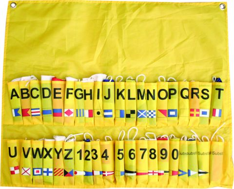 International  Code  Flags - Complete  Set