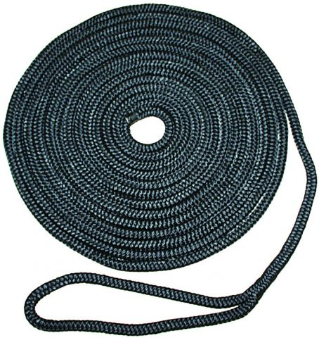 Black  Polyester  Dock  Lines